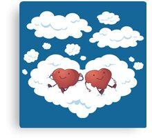 DREAMY HEARTS Canvas Print