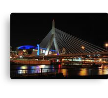 Boston's Zakim-Bunker Hill Bridge Canvas Print