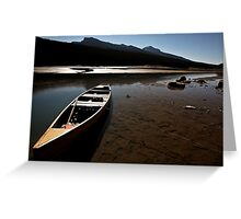 Medicine Lake in Jasper National Park Greeting Card