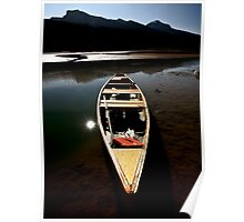 Medicine Lake in Jasper National Park Poster
