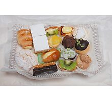 Patisserie Cakes Photographic Print