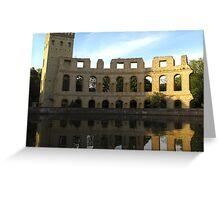 Roman Ruins in Potsdam Greeting Card