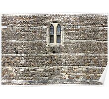 Windsor Castle Wall Detail Poster