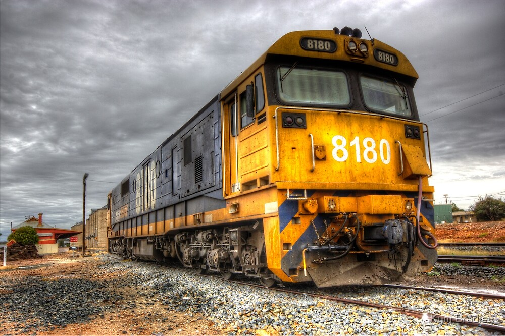 Stood Down,  Train  Temora NSW  Australia  by Kym Bradley