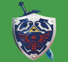 The Legend of Zelda Sword and Shield by icemanire