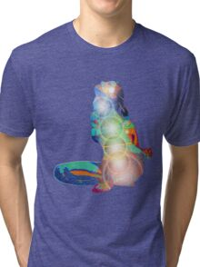 Matsyendrasana digital 2012 as Tshirt Tri-blend T-Shirt