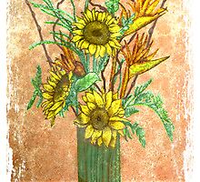 Sunflowers by Troy Brown