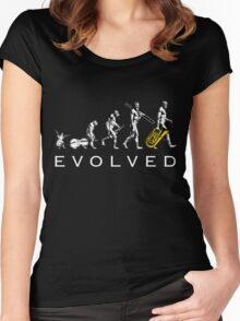 Tuba Evolution Women's Fitted Scoop T-Shirt