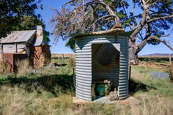 Vintage Way Of Life,  Rural NSW  Australia  by Kym Bradley