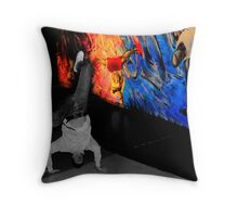 Breakdance UK Throw Pillow