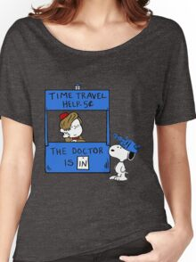 Peanuts Time Travel Women's Relaxed Fit T-Shirt