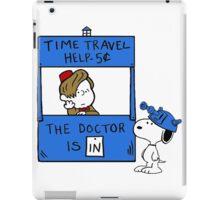 Peanuts Time Travel iPad Case/Skin
