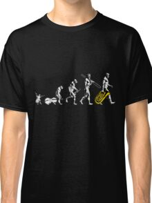 Tuba Evolution - no tagline Classic T-Shirt