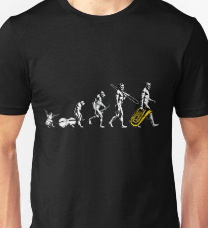 Tuba Evolution - no tagline Unisex T-Shirt