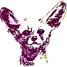 Fennec Fox - in purple by Kari Sutyla