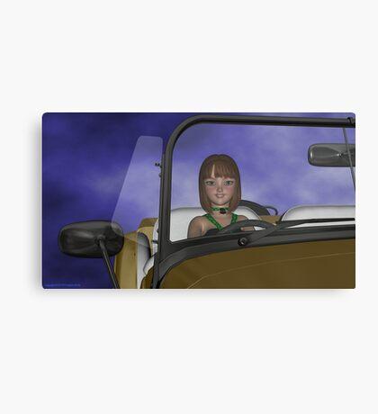 Viridia Driving Canvas Print