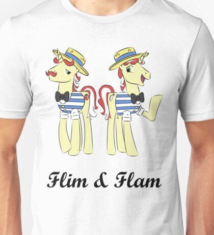 flim flam (blk text) Unisex T-Shirt