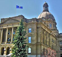 Alberta's Legislature by Erika Price