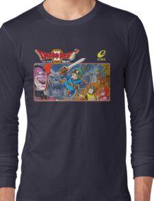 Dragon Quest 2 Nintendo Famicom Box Art Long Sleeve T-Shirt