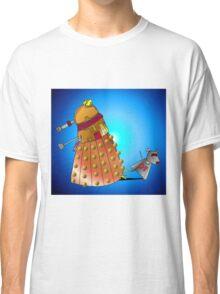 K9 vs Dalek Classic T-Shirt