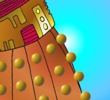 K9 vs Dalek Sticker