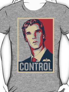 CONTROL Beige/Red/DarkBlue T-Shirt