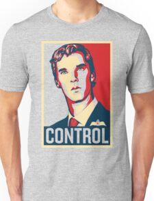 CONTROL Beige/Red/DarkBlue Unisex T-Shirt
