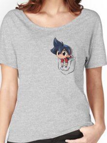 Pocket chibi Tyson Women's Relaxed Fit T-Shirt