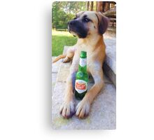 """""""Chillin at Hill Top Ranch"""" Canvas Print"""