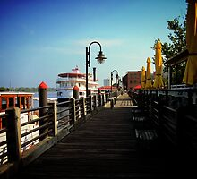 Morning on the Boardwalk by Nellie Corean