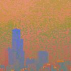 City Abstract Sunrise by CanoeComsArt