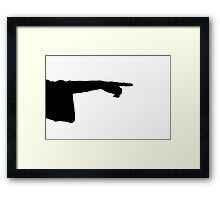 Right side Framed Print
