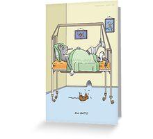 Ill Gatto Greeting Card