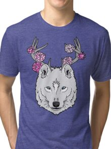 The Grey Wolf Tri-blend T-Shirt