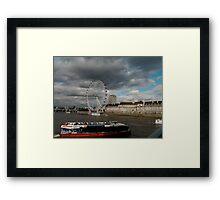 London Eye, London Framed Print