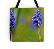 Grape Hyacynth Tote Bag
