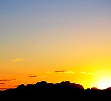 Uluru Olgas by Gordge-us