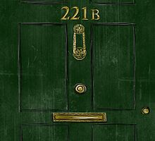 221B Door by Kristina Moy