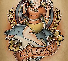 SPLOOSH - Print by MeganLara