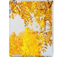 Yellow Leaves iPad Case/Skin
