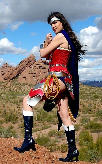 Medieval Wonder Woman by CKAStudios