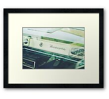 chevy biscayne - 3 Framed Print