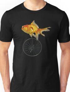 unicycle goldfish Unisex T-Shirt