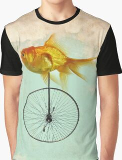 unicycle goldfish Graphic T-Shirt
