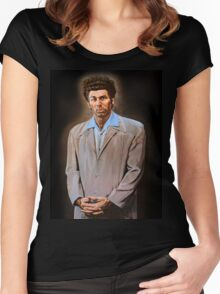 Kramer painting Women's Fitted Scoop T-Shirt