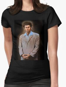 Kramer painting Womens Fitted T-Shirt