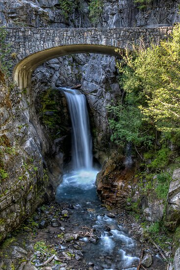 Lower Christine Falls by TeresaB