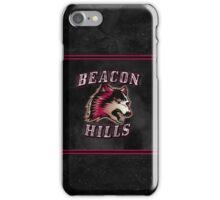 "Teen Wolf- ""Beacon Hills Logo"" iPhone Case/Skin"