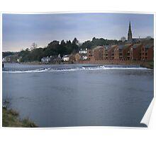 River Exe basin Poster