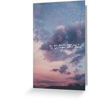 Wildest Dreams Greeting Card